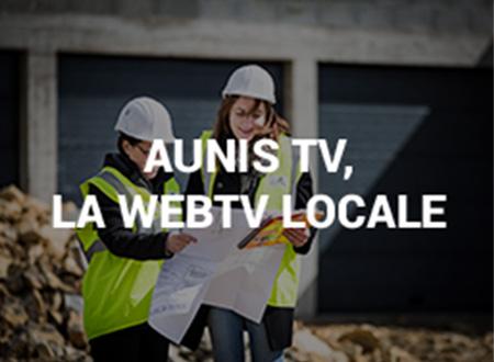 Photo présentation Aunis TV la webTV locale